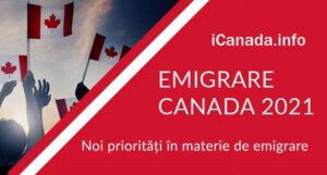 Emigrare Canada – 2021